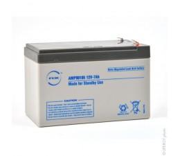 Batterie plomb NX12V 7Ah
